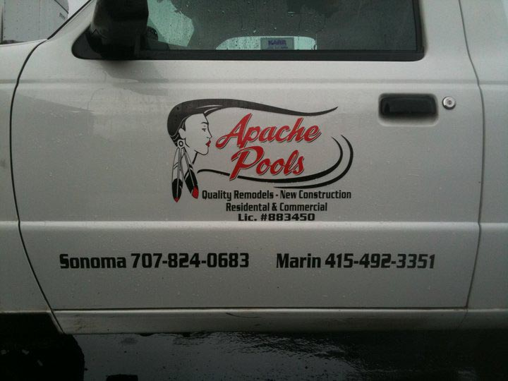 Contact Apache Pools 707-824-0683 or 415-492-3351